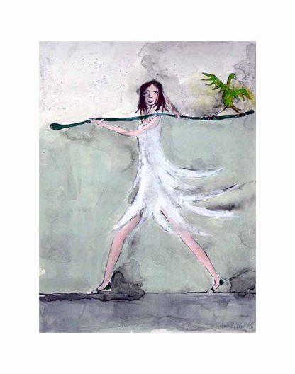 Achtsamkeit - ein Bild von Christiane Holsten